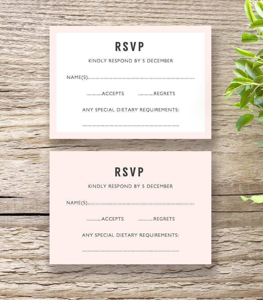 90 Customize Our Free Wedding Invitation Template Rsvp Layouts with Wedding Invitation Template Rsvp