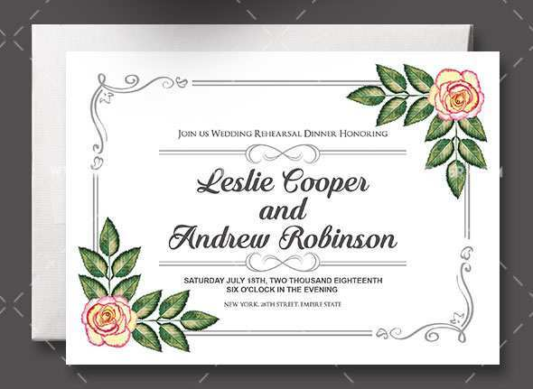 90 Customize Wedding Invitation Template Psd Download by Wedding Invitation Template Psd