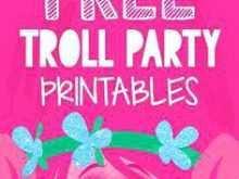 90 Report Trolls Party Invitation Template Formating by Trolls Party Invitation Template