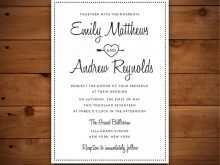 90 Report Wedding Invitation Template Doc Layouts with Wedding Invitation Template Doc