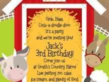 Zoo Party Invitation Template Free