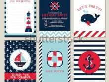 90 The Best Nautical Invitation Blank Template Download by Nautical Invitation Blank Template