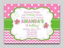 90 Visiting Birthday Invitation Template Butterfly Party for Ms Word for Birthday Invitation Template Butterfly Party
