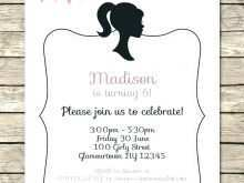 Elegant Birthday Invitation Templates Free