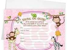 91 Customize Our Free Blank Safari Invitation Template in Word for Blank Safari Invitation Template