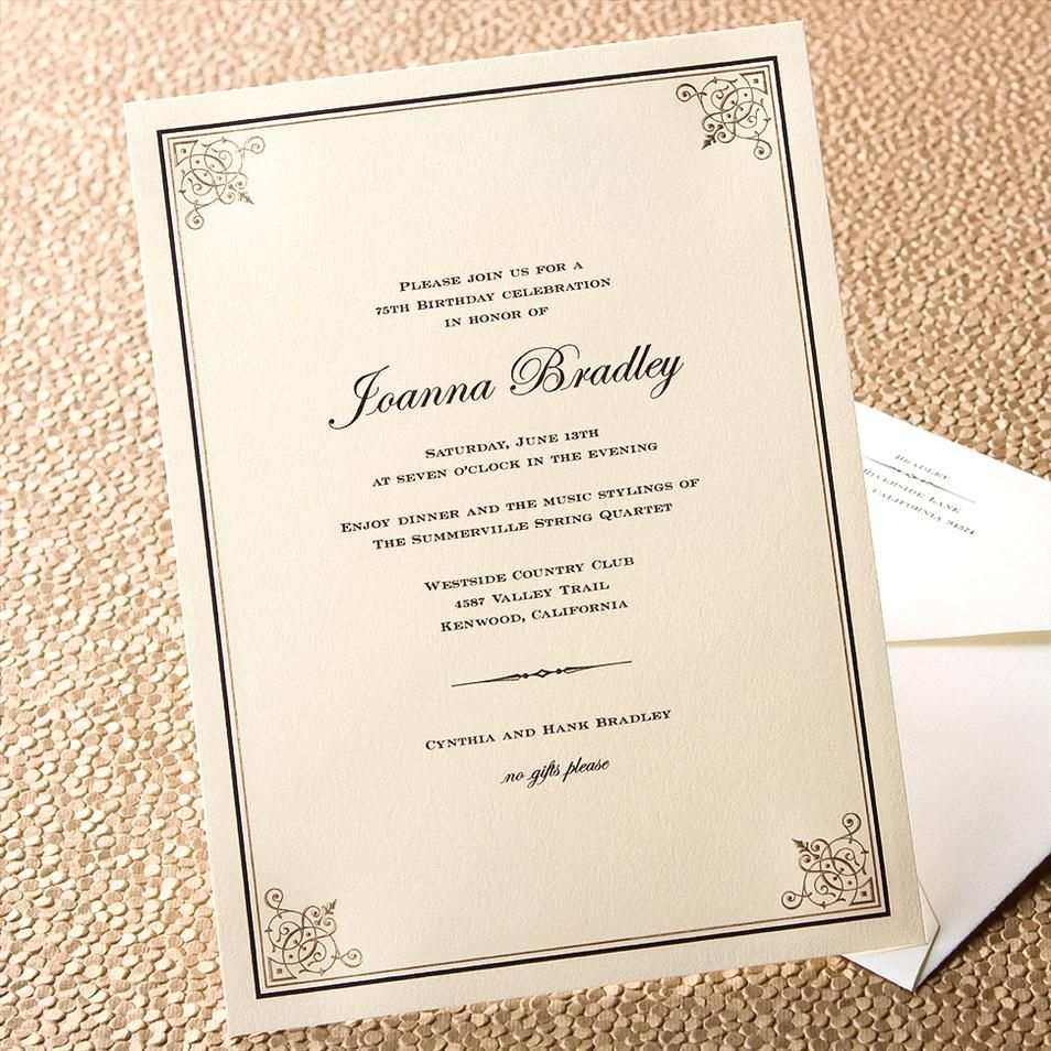 91 Customize Our Free Formal Dinner Party Invitation Template in Word by  Formal Dinner Party Invitation Template - Cards Design Templates