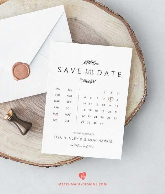 91 Format Calendar Wedding Invitation Template Templates for Calendar Wedding Invitation Template