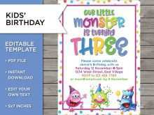 12 Year Old Boy Birthday Party Invitation Template