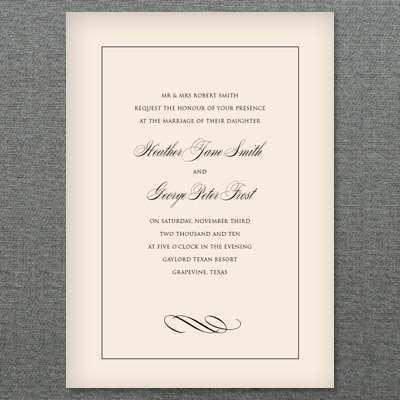 91 Free Simple And Elegant Wedding Invitation Template for Ms Word with Simple And Elegant Wedding Invitation Template