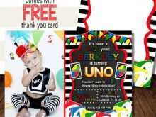 91 Online Uno Birthday Invitation Template Free Download for Uno Birthday Invitation Template Free