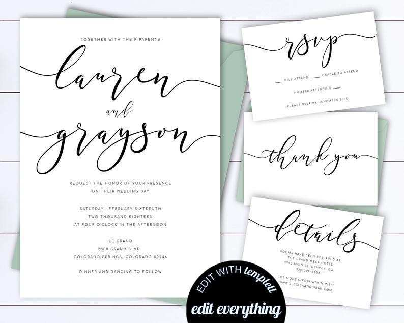 Word Wedding Invitation Template from legaldbol.com