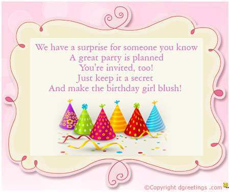 91 The Best Birthday Invitation Template For Girl Download with Birthday Invitation Template For Girl