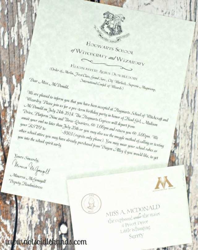 91 The Best Harry Potter Wedding Invitation Template Maker with Harry Potter Wedding Invitation Template