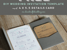 92 Create Diy Wedding Invitation Template Download for Diy Wedding Invitation Template