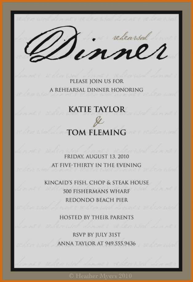 92 Format Dinner Invitation Examples Templates by Dinner Invitation Examples