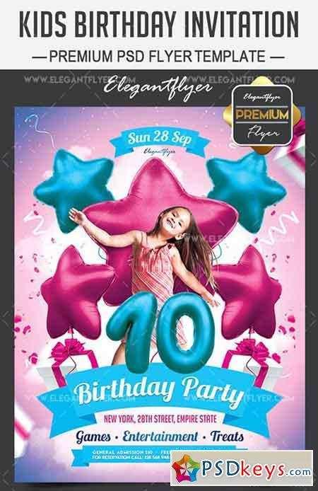 92 Free Birthday Invitation Templates Vector Free Download Now for Birthday Invitation Templates Vector Free Download