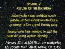92 Free Printable Birthday Invitation Template Star Wars Download for Birthday Invitation Template Star Wars