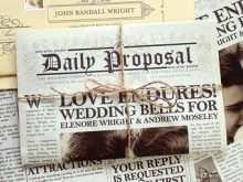 92 Printable Wedding Invitation Newspaper Template Download by Wedding Invitation Newspaper Template