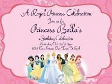 93 Best Birthday Invitation Template Princess for Ms Word for Birthday Invitation Template Princess