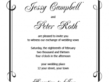 93 Creating Formal Invitation Template Word Free Formating by Formal Invitation Template Word Free