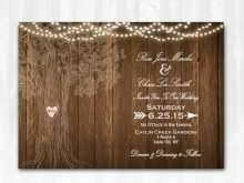 93 Format Blank Rustic Invitation Template Now by Blank Rustic Invitation Template