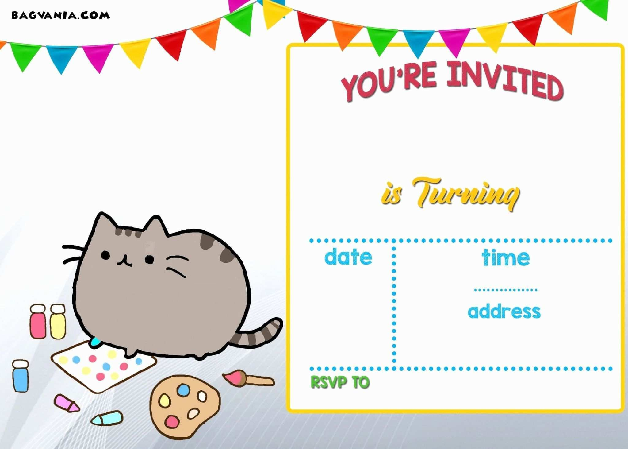 5 Free Pac Man Birthday Invitation Template in Word by Pac Man