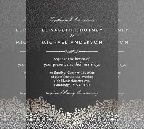 93 Free Printable Elegant Invitation Template Free Download for Elegant Invitation Template Free