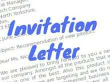 Formal Invitation For Meeting Template