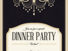 93 Report Blank Dinner Invitation Template Formating with Blank Dinner Invitation Template