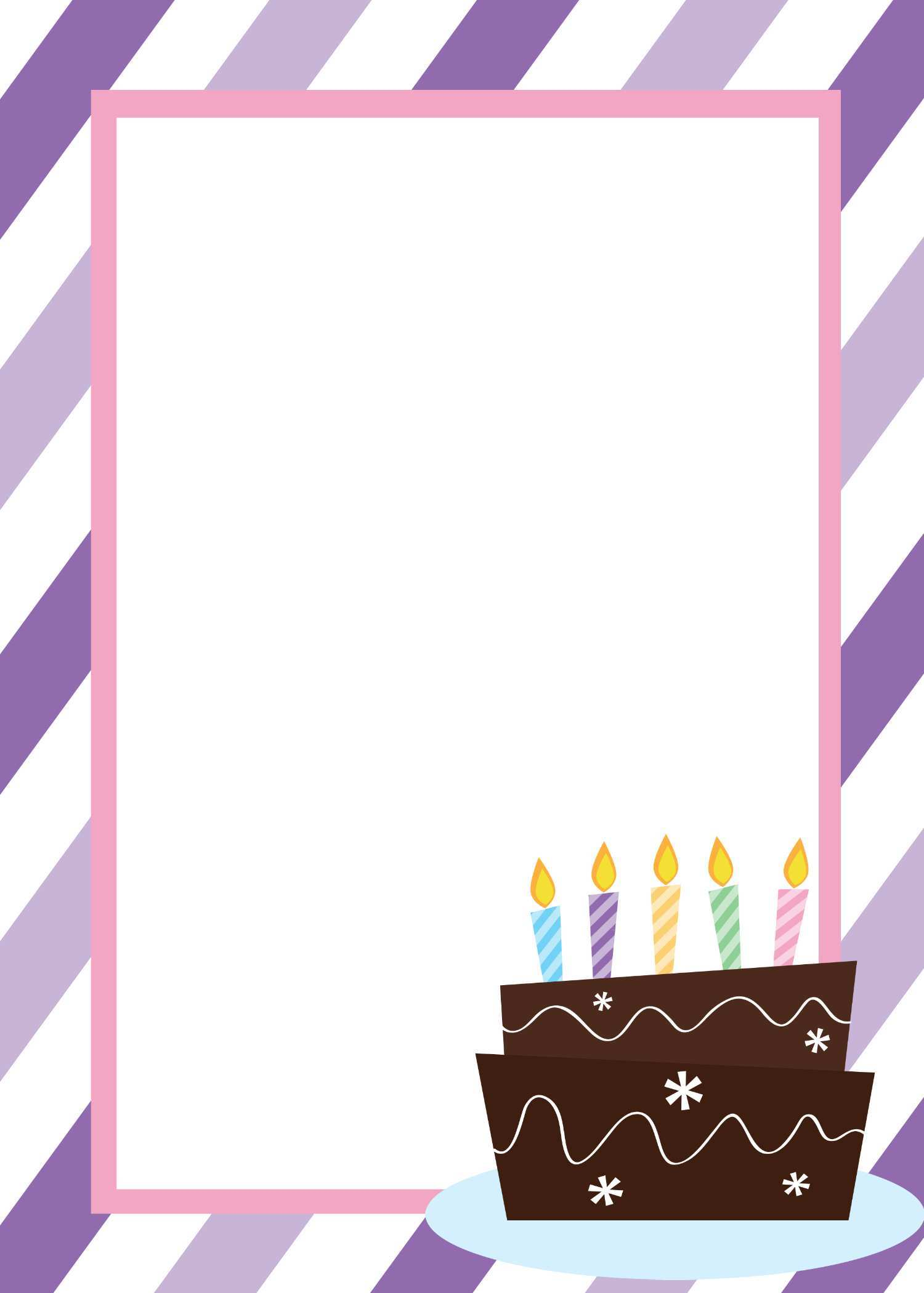 93 Visiting Birthday Invitation Template Free in Word by Birthday Invitation Template Free