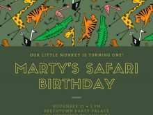 94 Blank Birthday Invitation Template Animals With Stunning Design with Birthday Invitation Template Animals