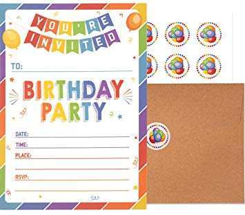 94 Creative Birthday Party Invitation Cards Images With Stunning Design with Birthday Party Invitation Cards Images