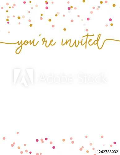 94 Report Party Invitation Template Adobe in Word with Party Invitation Template Adobe