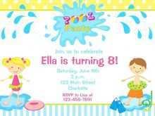 94 Standard Birthday Invitation Template Child Now with Birthday Invitation Template Child