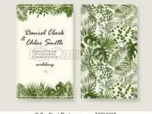 94 Standard Botanical Wedding Invitation Template With Stunning Design with Botanical Wedding Invitation Template