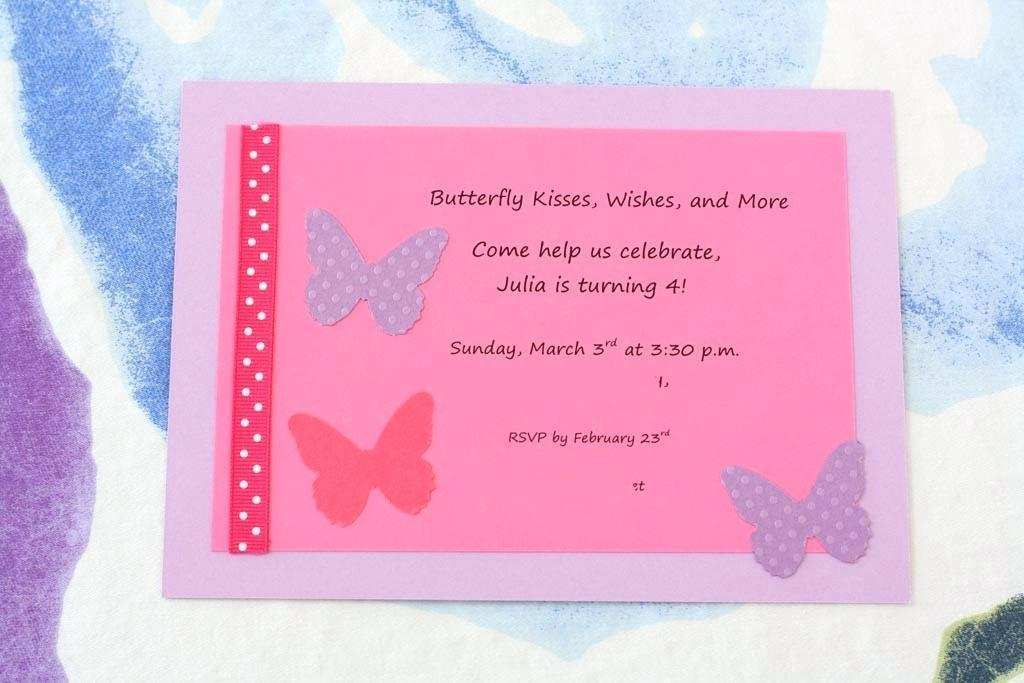 94 The Best Birthday Invitation Template Butterfly Party Layouts by Birthday Invitation Template Butterfly Party