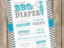 95 Blank Diaper Party Invitation Template Free in Word for Diaper Party Invitation Template Free