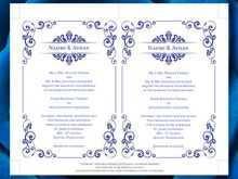 95 Blank Royal Blue Wedding Invitation Template in Photoshop for Royal Blue Wedding Invitation Template