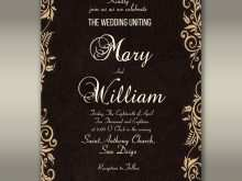 95 Report Elegant Wedding Invitation Designs Free for Ms Word for Elegant Wedding Invitation Designs Free