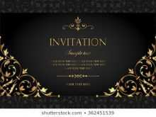 95 Report Vector Invitation Template Online Download by Vector Invitation Template Online