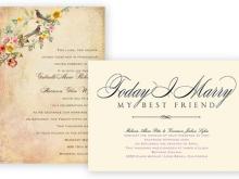 95 Standard Sample Wedding Invitation Envelope For Free by Sample Wedding Invitation Envelope