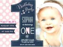 95 The Best Birthday Invitation Template For Baby Boy With Stunning Design with Birthday Invitation Template For Baby Boy