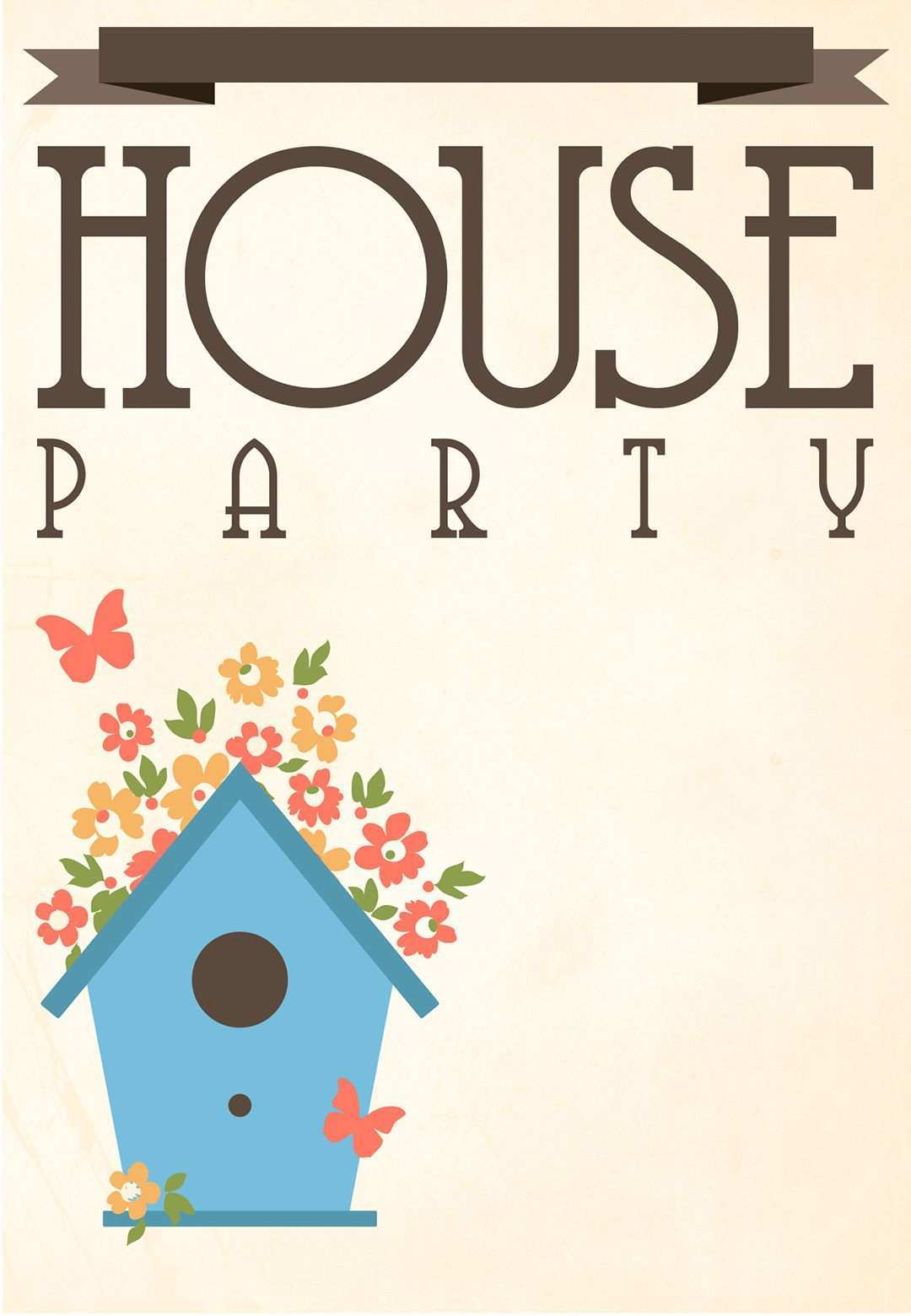 96 Adding House Party Invitation Template Maker for House Party Invitation Template
