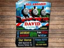 96 Creating Birthday Invitation Template Train Templates with Birthday Invitation Template Train