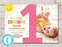 96 Customize You Are My Sunshine Birthday Invitation Template For Free with You Are My Sunshine Birthday Invitation Template