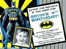 96 Format Justice League Birthday Invitation Template Download by Justice League Birthday Invitation Template