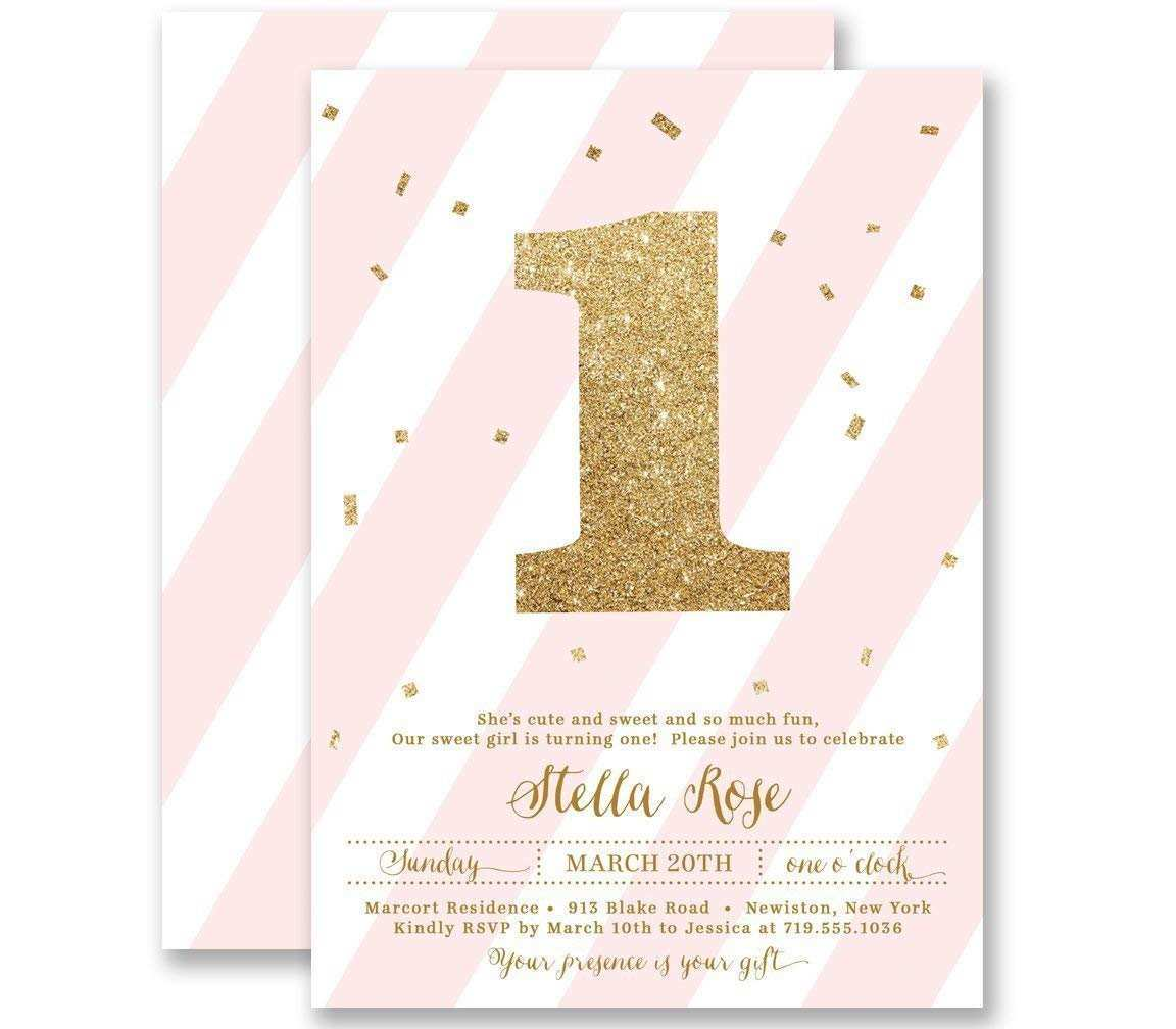 96 Free Printable Birthday Invitation Template Rose Gold For Free by Birthday Invitation Template Rose Gold