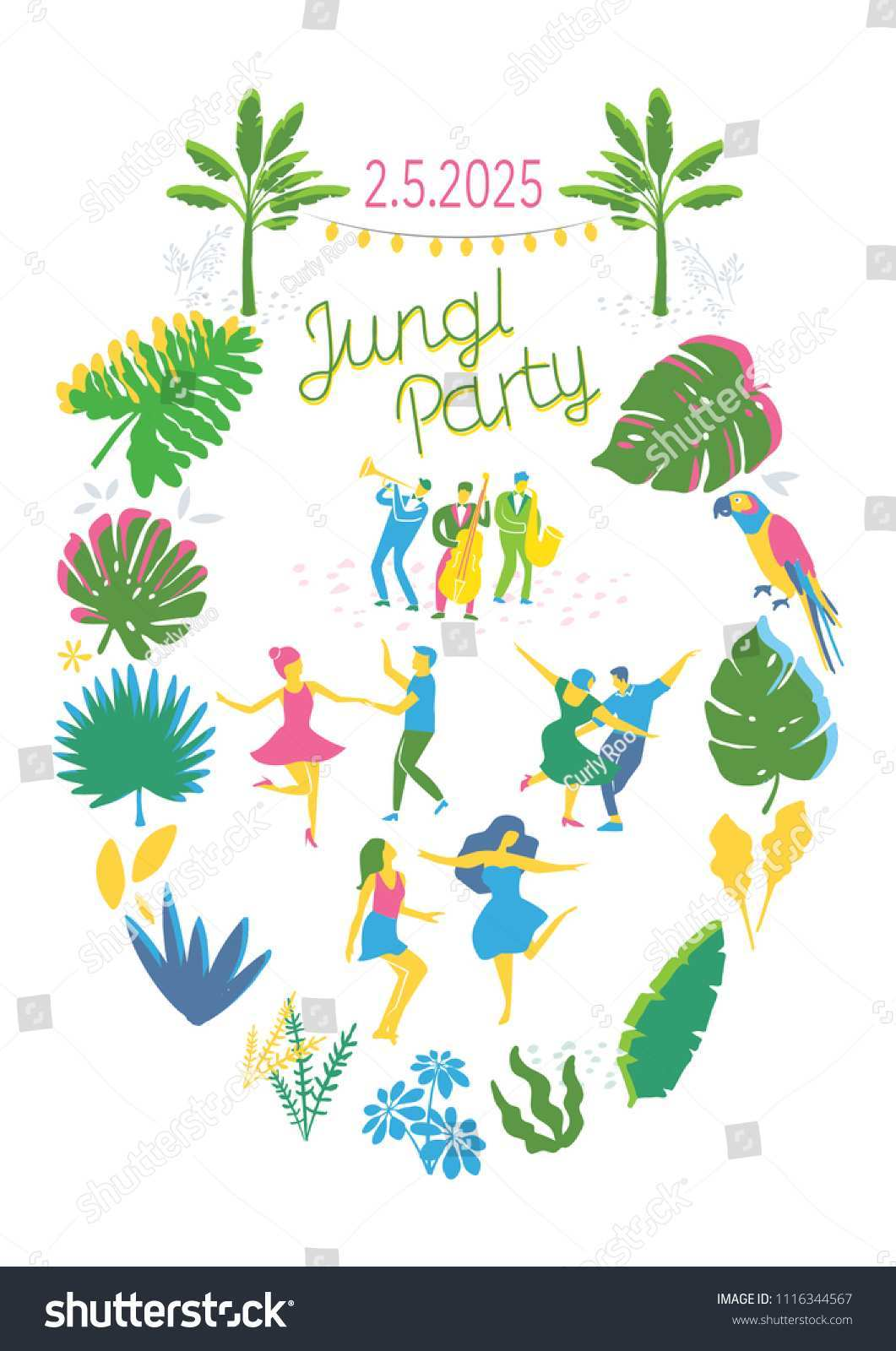 96 The Best Jungle Party Invitation Template Free Now with Jungle Party Invitation Template Free