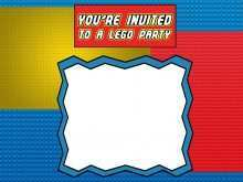 97 Creative Lego Party Invitation Template Free for Ms Word for Lego Party Invitation Template Free