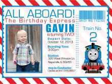 97 Customize Our Free Birthday Invitation Template Train Free in Word by Birthday Invitation Template Train Free